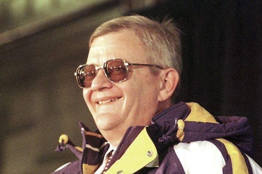 Tom Clancy en février 1998. (Archives AFP)