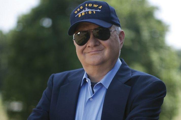 Le romancier Tom Clancy photographié à sa maison de Huntingtown au Maryland en 2010. (Photo: archives Reuters)