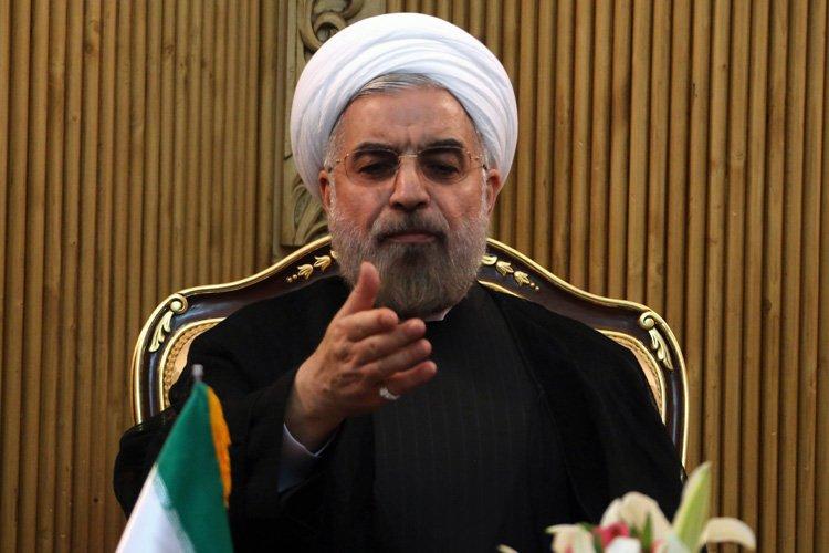 Le président iranien Hassan Rohani.... (Photo: AFP)