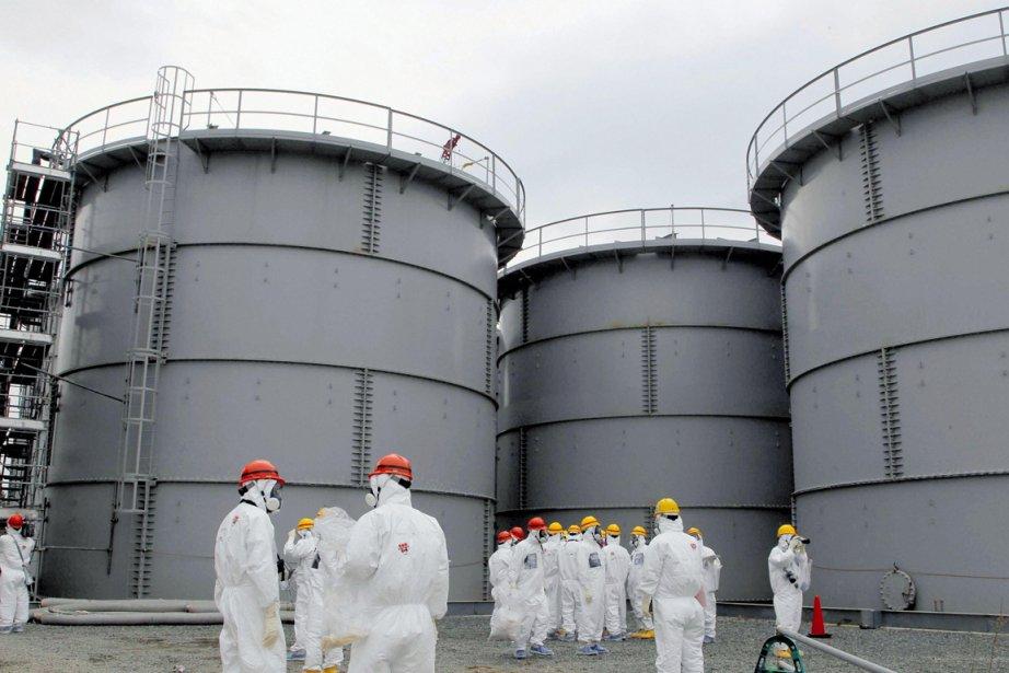 La centrale accidentée Fukushima Daiichi regorge d'eau radioactive... (PHOTO ARCHIVES REUTERS)