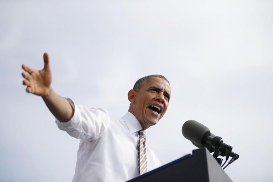 Jeudi à Rockville, Barack Obama a encore une... (PHOTO JASON REED, REUTERS)