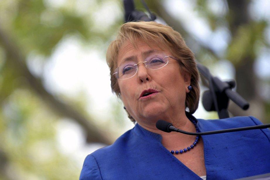 Michelle Bachelet... (PHOTO HECTOR RETAMAL, AFP)