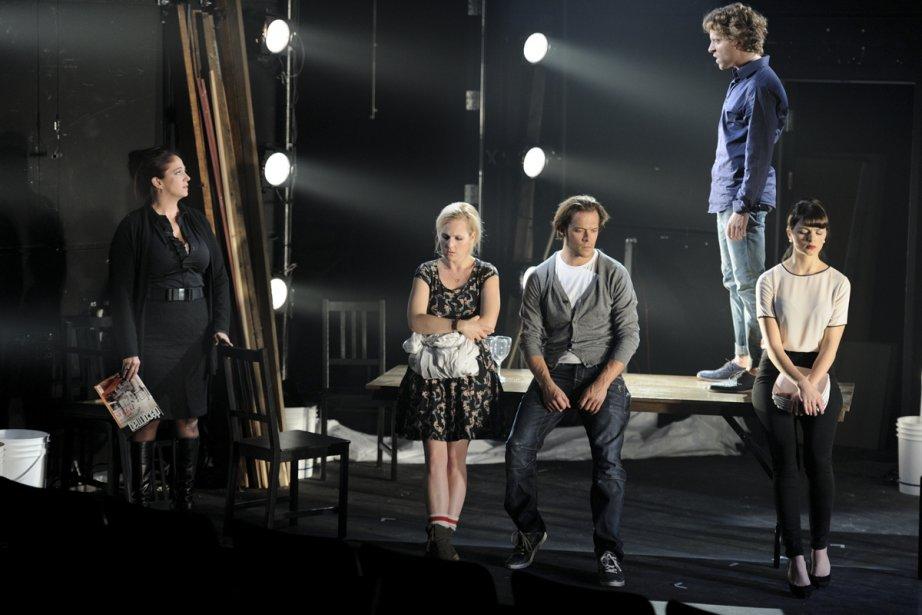 Marie-Josée Bastien, Marie Soleil Dion, Guillaume Perreault, Renaud... (Photo: fournie par le Théâtre La Licorne)