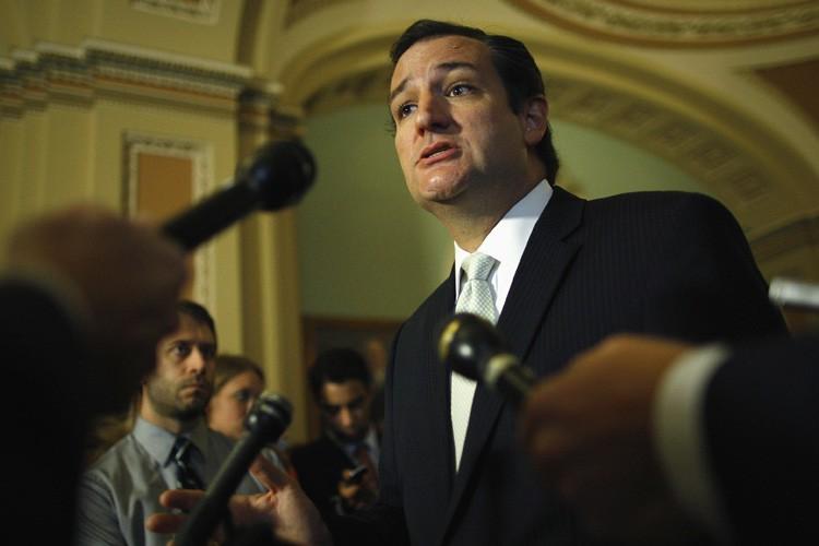 Le sénateur républicain du Texas, Ted Cruz, a... (Photo: Reuters)