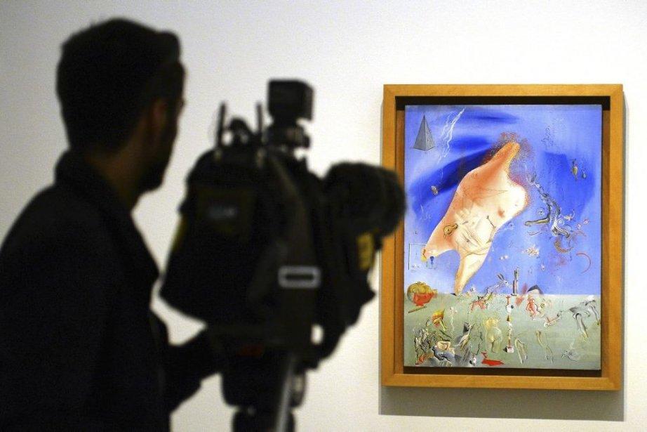 Los esfuerzos esteriles de Salvador Dali... (Photo: AFP)