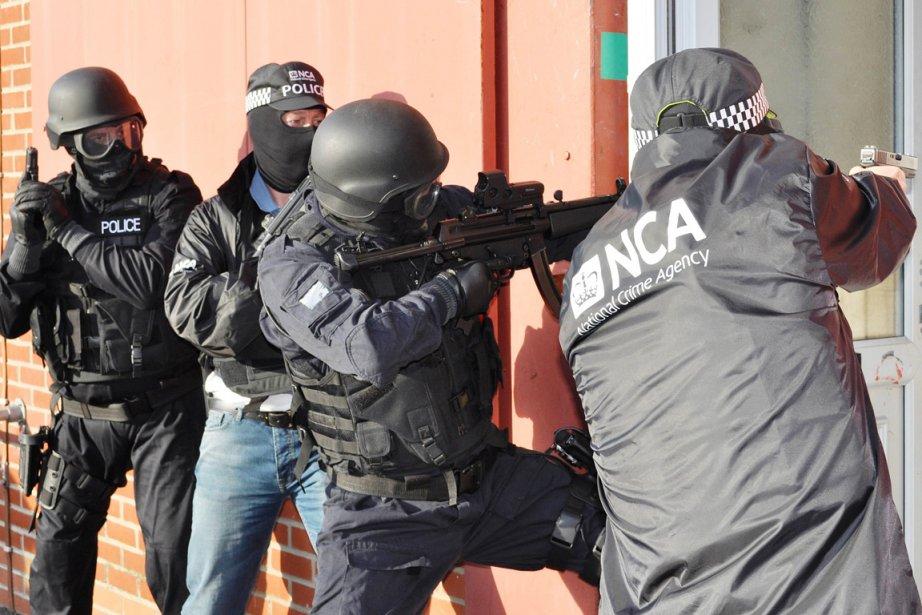 La NCA est l'héritière de la National Crime... (PHOTO AFP/NATIONAL CRIME AGENCY)