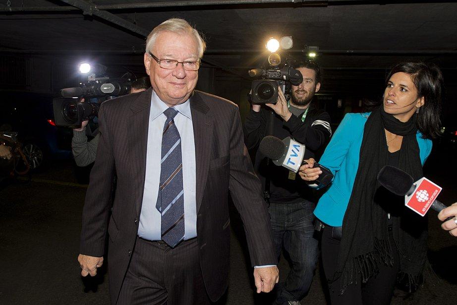 Gilles Vaillancourt, photographié le 1er octobre dernier.... (PHOTO GRAHAM HUGHES, LA PRESSE CANADIENNE)