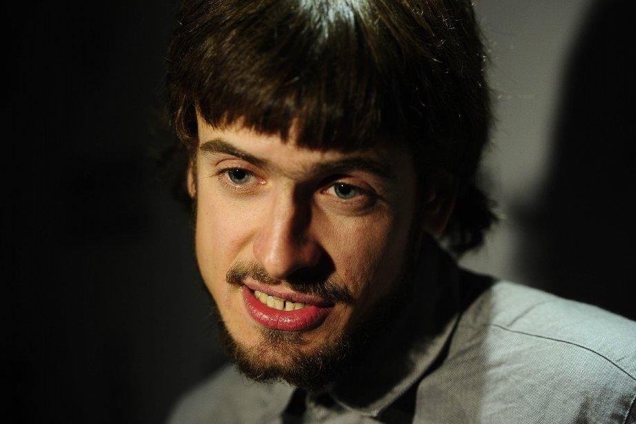 L'époux de Nadejda Tolokonnikova, Piotr Verzilov, est également... (PHOTO EMMANUEL DUNAND, ARCHIVES AFP)