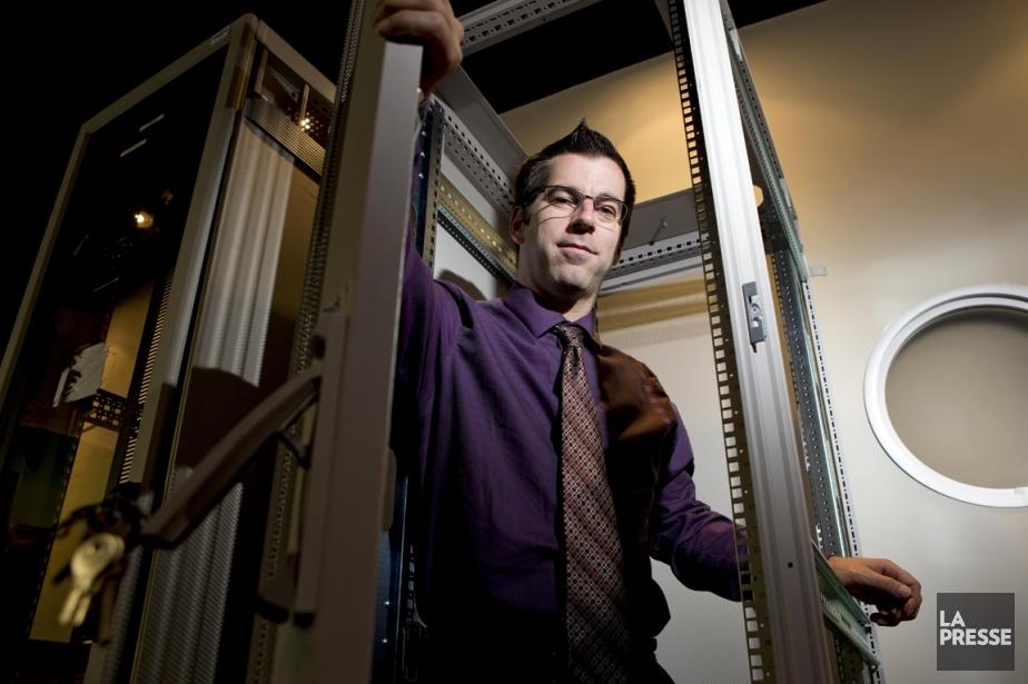 Patrick Boucher a fondé son entreprise Gardien virtuel... (PHOTO ALAIN ROBERGE, LA PRESSE)