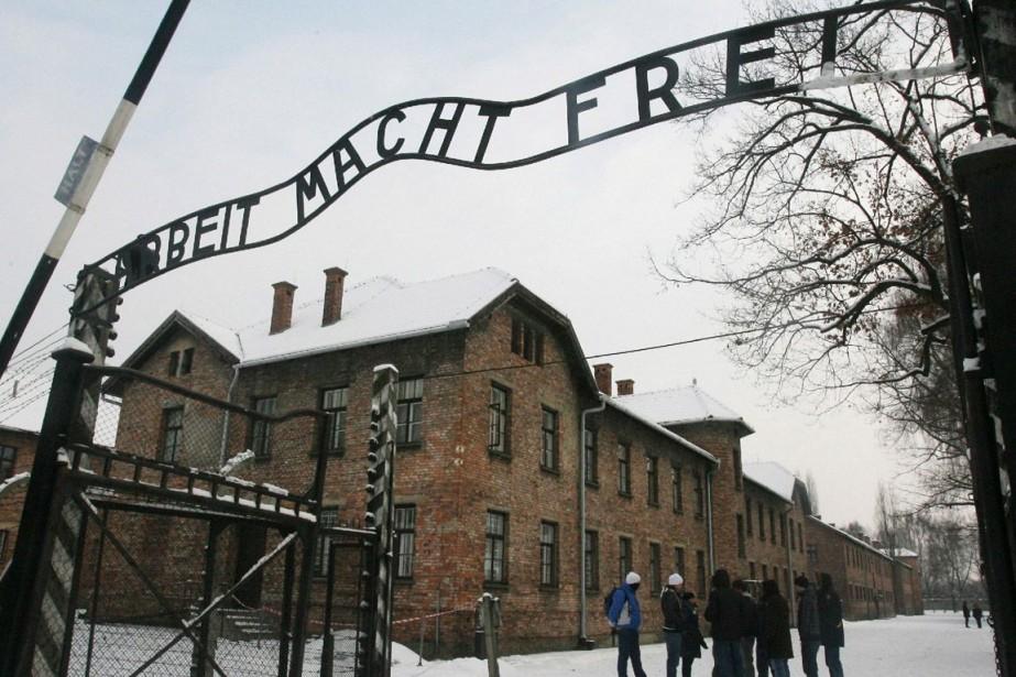 Plus de 6000 personnes ont travaillé à Auschwitz,... (Photo archives AP)