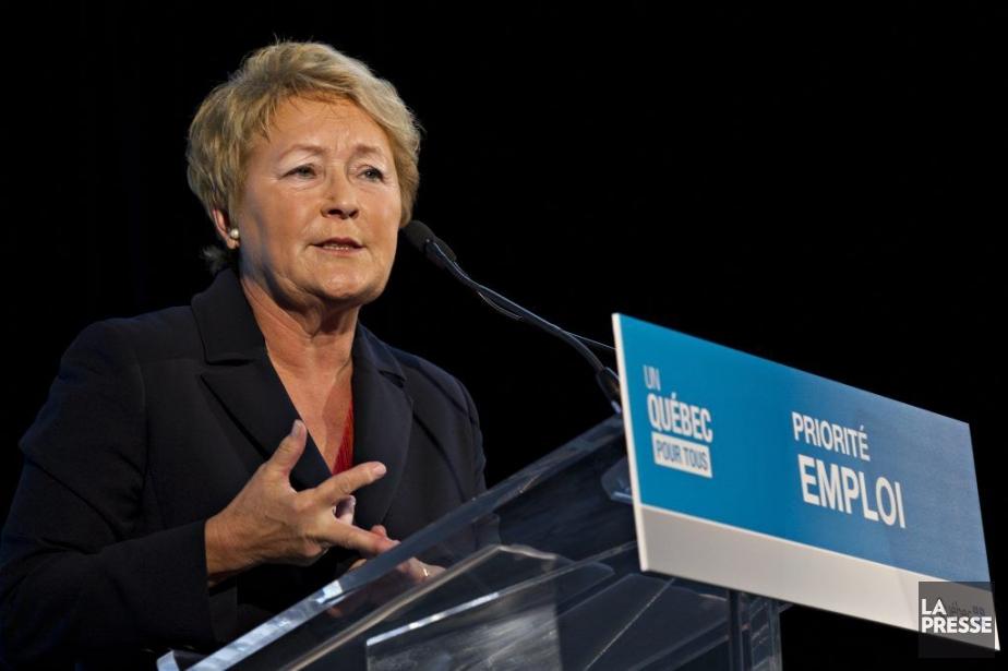 La première ministre Pauline Marois.... (PHOTO OLIVIER JEAN, LA PRESSE)