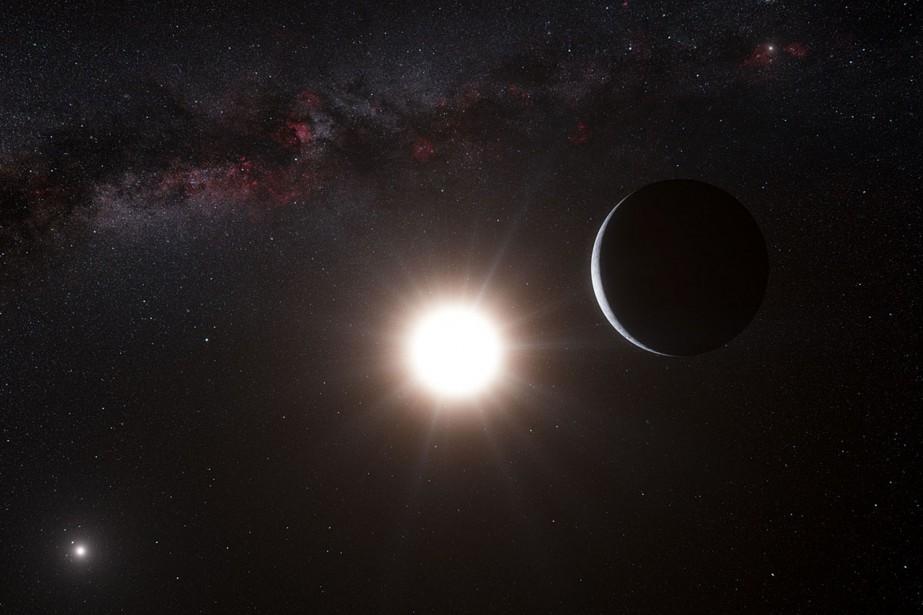 «Nous n'avons jamais auparavant vu un objet comme... (Photo fournie par la NASA)