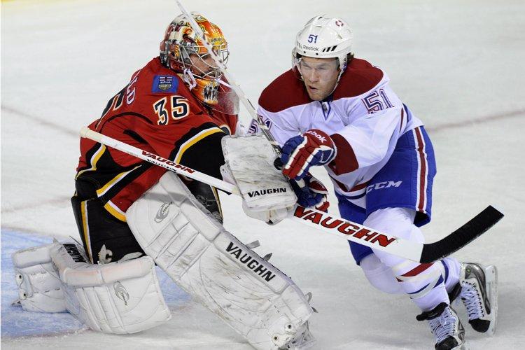 Relisez le clavardage du match entre les Flames et le Canadien... (Photo: PC)