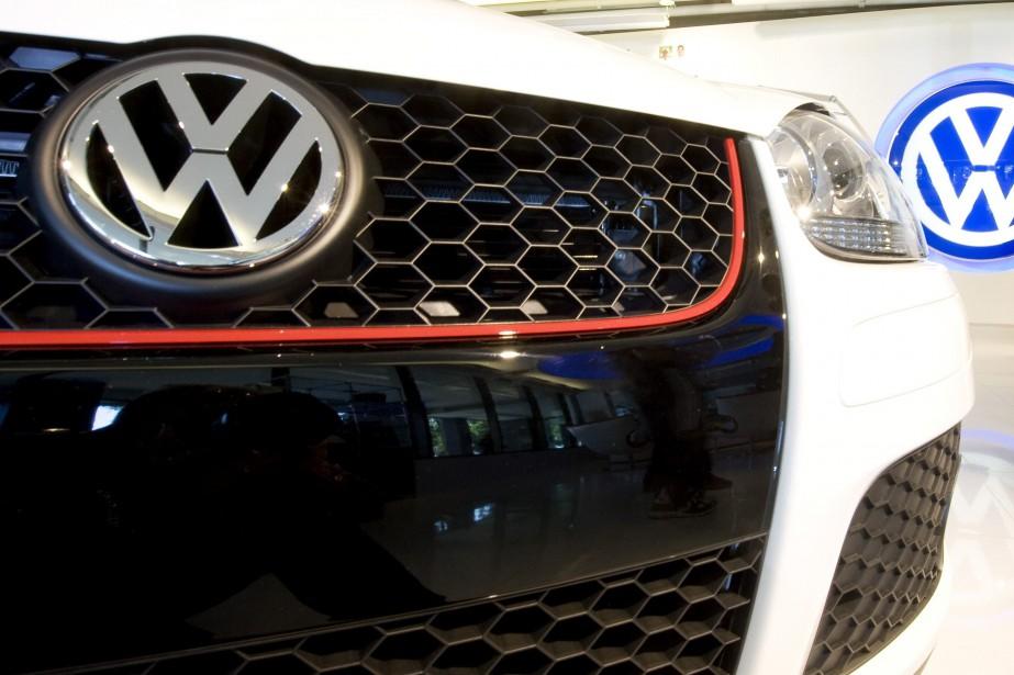 L'action ordinaire de Volkswagen prenait 7,19% à 124,55... (Photo LARRY DOWNING, Reuters)
