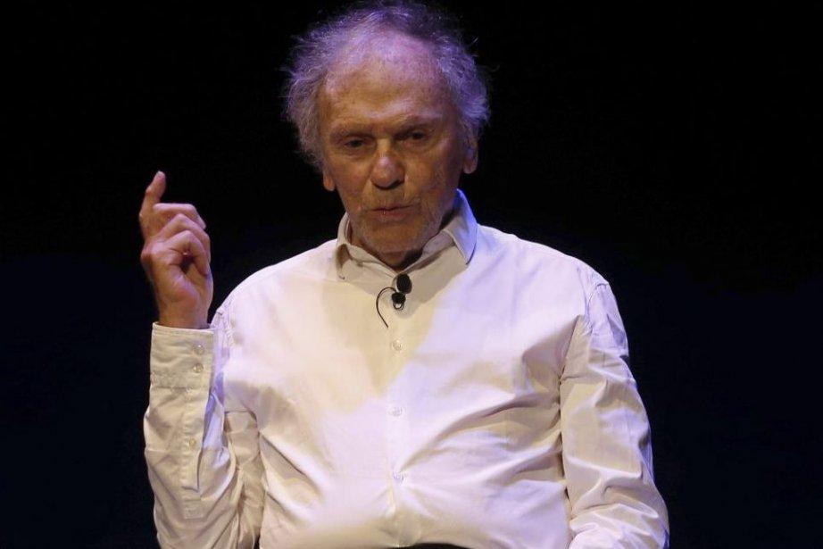 Jean-Louis Trintignant lors de sa dernière performance sur... (Photo: AFP)