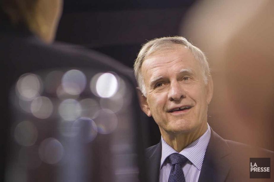 Marcel Côté, le chef de Coalition Montréal.... (PHOTO OLIVIER PONTBRIAND, LA PRESSE)