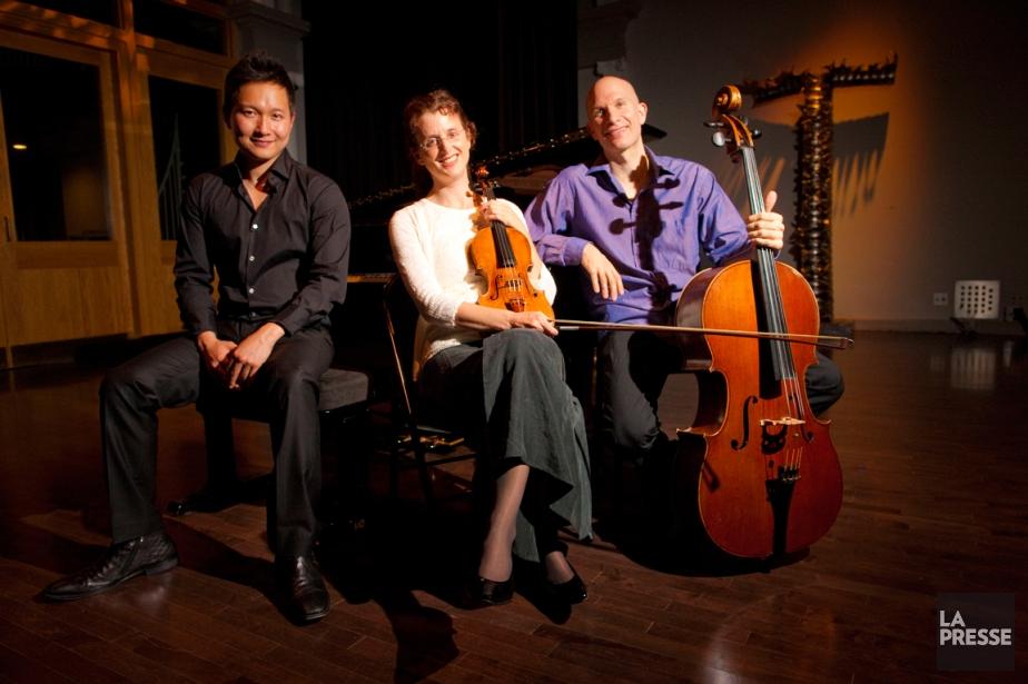 Le Trio Fibonacci: le pianiste Wonny Song, la... (PHOTO ANDRÉ PICHETTE, LA PRESSE)