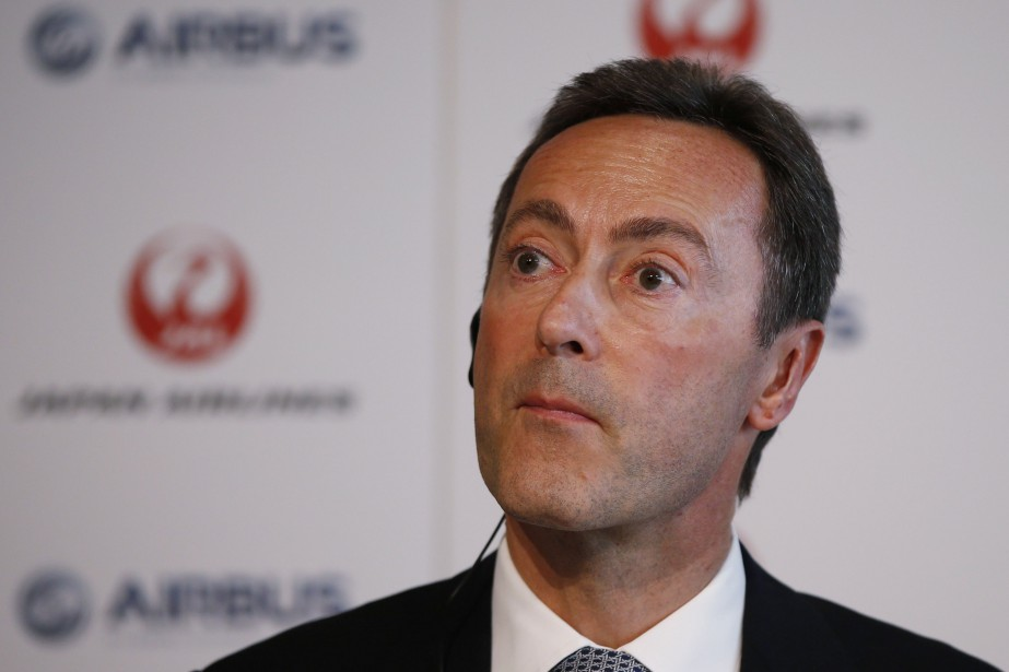 Fabrice Brégier, PDG d'Airbus.... (Photo Toru Hanai, Reuters)