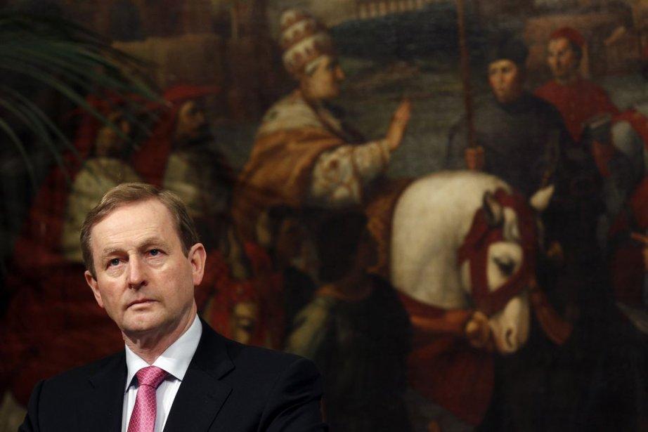 Le premier ministre irlandais Enda Kenny a confirmé... (Photo Reuters)