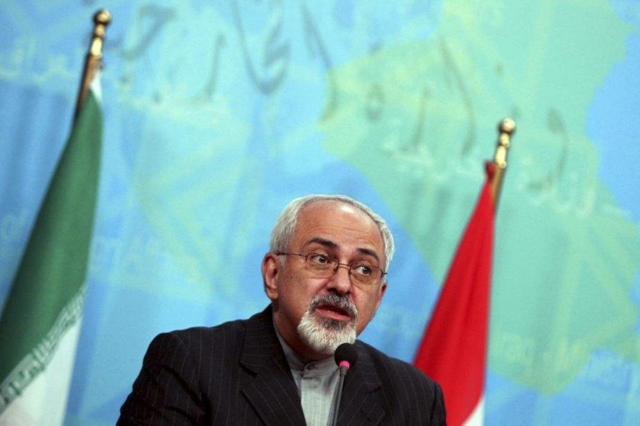 Le ministre iranien des Affaires étrangères, Mohammad Javad... (PHOTO AHMAD AL-RUBAYE, AGENCE FRANCE PRESSE)