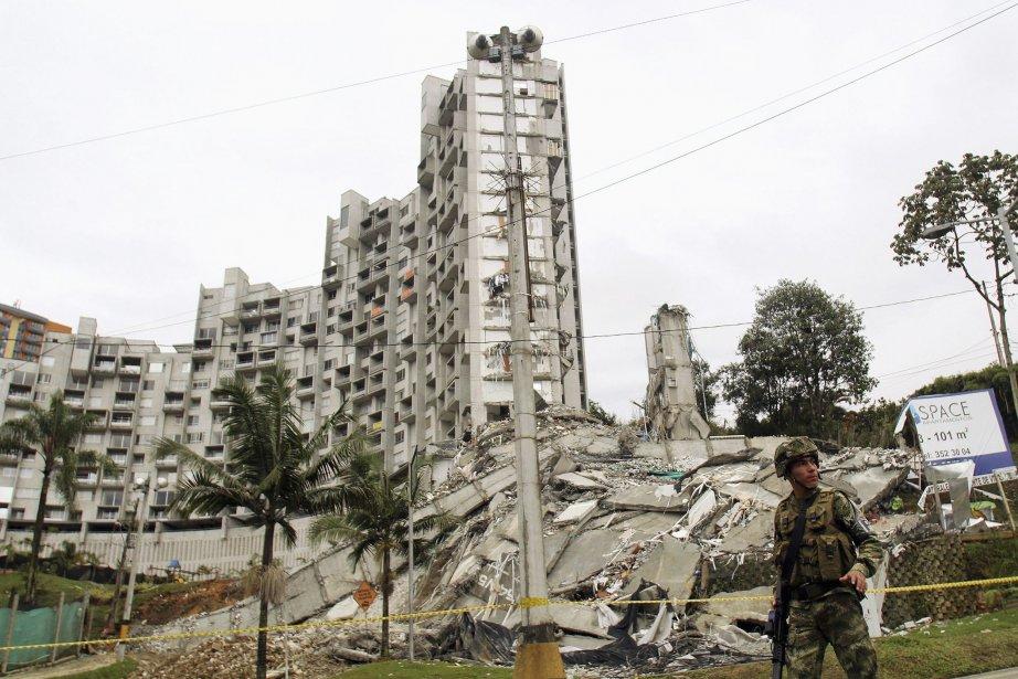 Les cinq autres de tours de ce complexe... (Photo ALBEIRO LOPERA, Reuters)