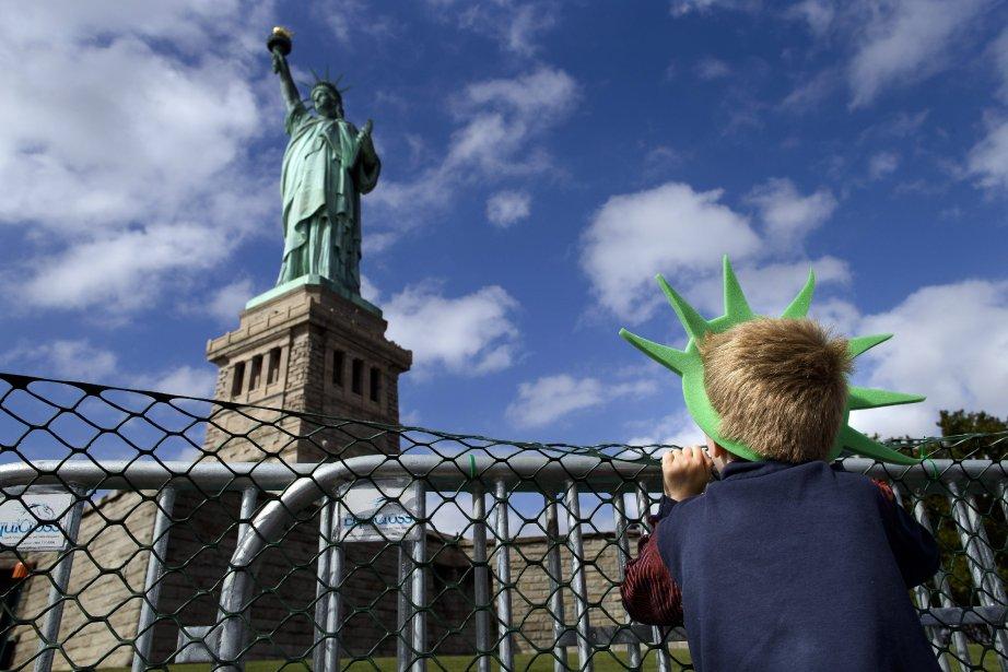 «La fermeture partielle du gouvernement et l'affrontement sur... (Photo John Minchillo, AP)