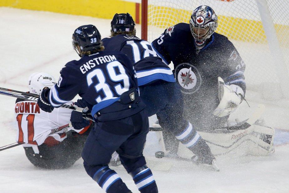 Montoya effectuait un premier départ cette saison pour... (Photo Trevor Hagan, La Presse Canadienne)