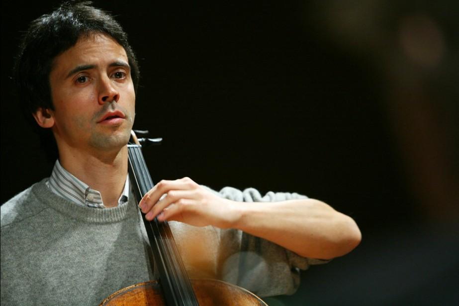 Le violoncelliste Jean-Guihen Queyras.... (Photo d'archives, Benjamin Kriehg Feldkirch)