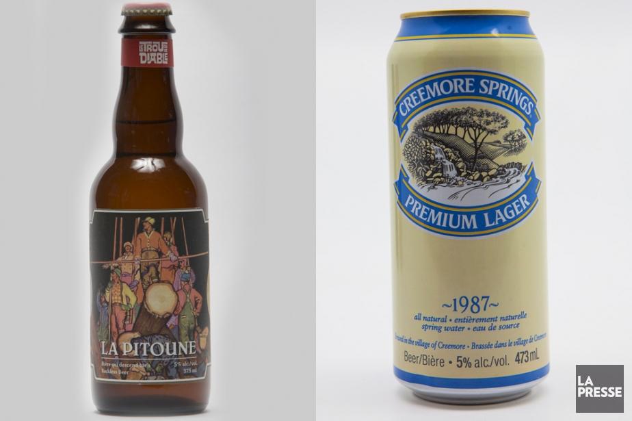 Voici deux bières de soif de style pilsner. La première distribuée à large...