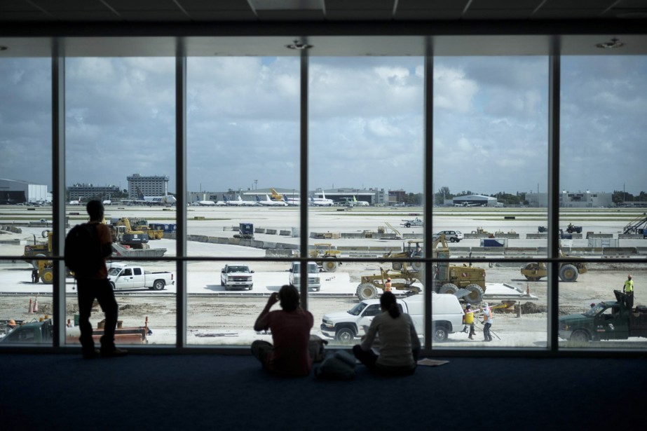 Le Miami International Airport... (Photo: archives AFP)