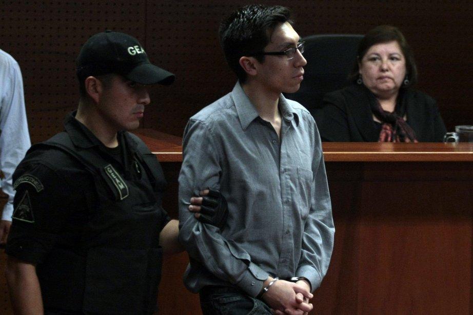 Alejandro Angulo, l'un des hommes déclarés coupables du... (Photo Luis Hidalgo, AP)