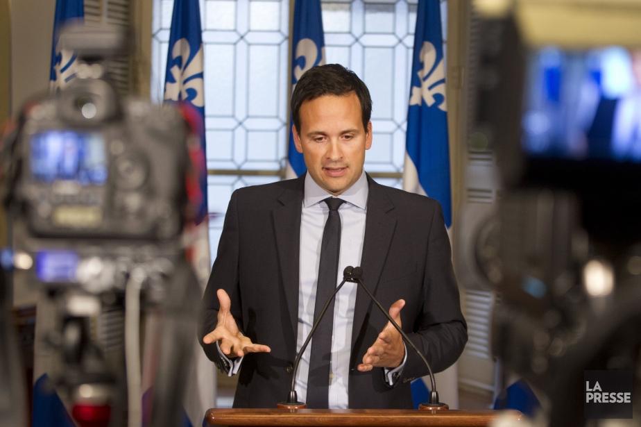 Le ministre des Affaires intergouvernementales canadiennes, Alexandre Cloutier.... (PHOTO IVANOH DEMERS, LA PRESSE)