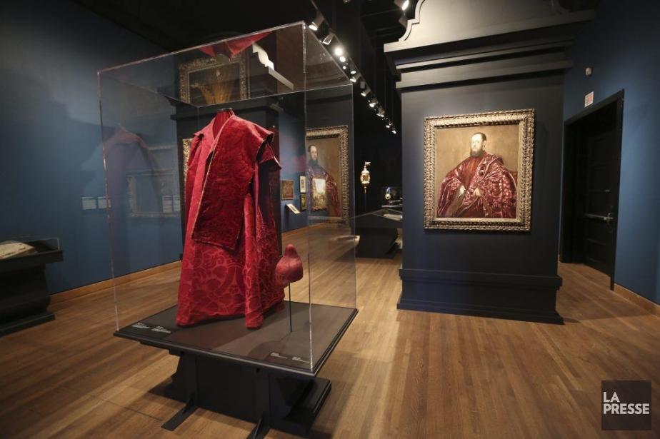 L'exposition Splendore a Venezia au Musée des beaux-arts... (PHOTO MARTIN CHAMBERLAND, LA PRESSE)