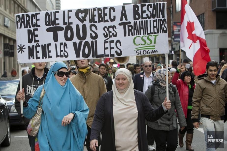 Une autre manifestation pour dénoncer le... (Photo: Robert Skinner, La Presse)