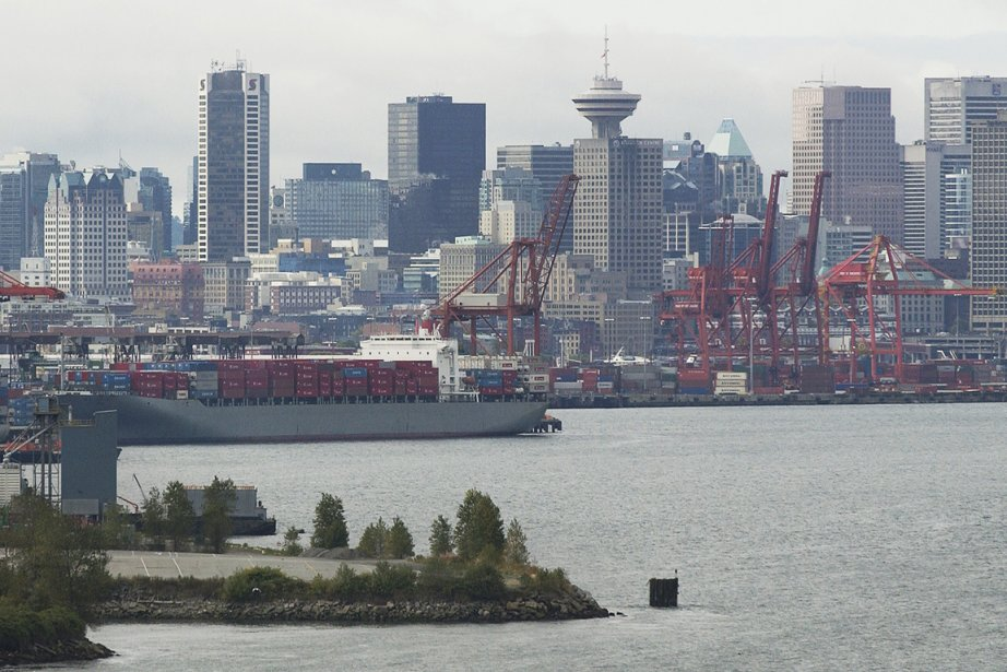 Le port de Vancouver.... (PHOTO BLOOMBERG)