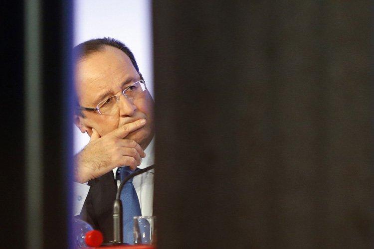 Le président Hollande a «exprimé ses vives préoccupations... (Photo: Reuters)
