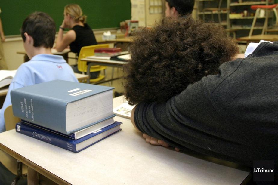 Tous égaux, les élèves québécois? Pas du tout. De... (Photo archives La Tribune)