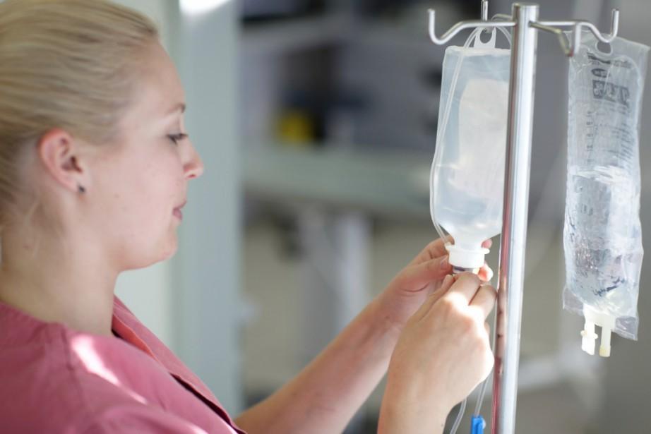 Le nombre d'infirmières dans les centres d'hébergement et de soins de longue...