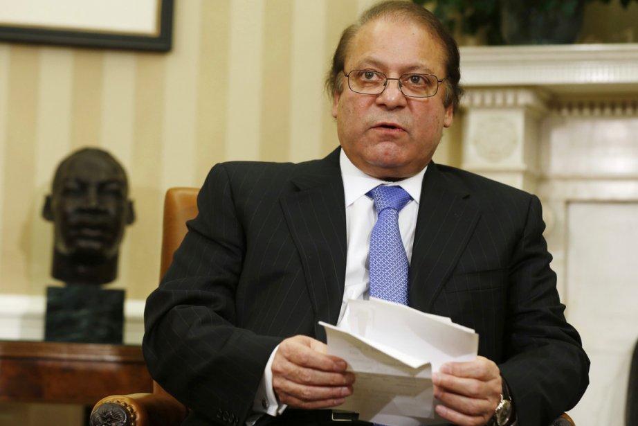 Le premier ministre pakistanais Nawaz Sharif dans le... (PHOTO LARRY DOWNING, REUTERS)