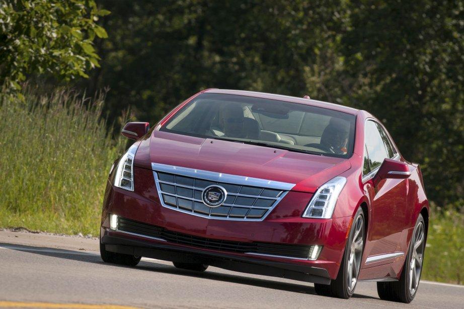 La nouvelle Cadillac ELR, une Chevrolet Volt endimanchée.... (Photo fournie par General Motors)