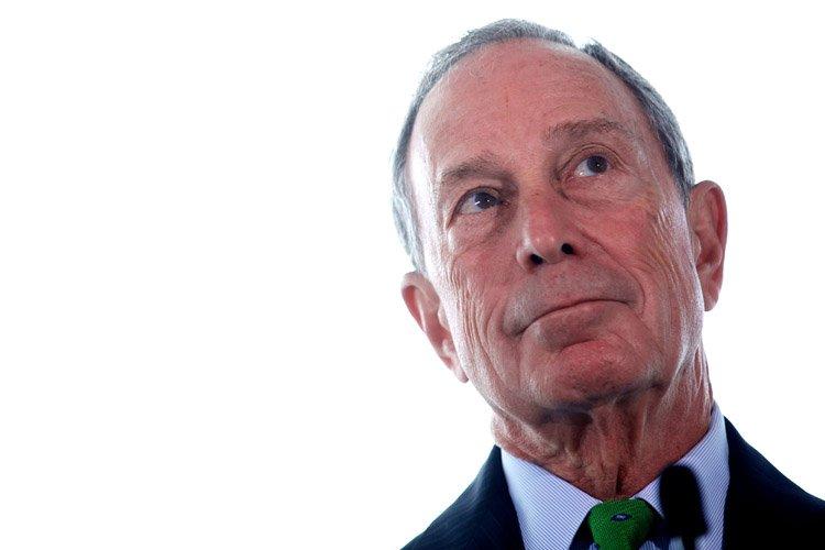 Le maire sortant de New York, Michael Bloomberg,... (Photo: AFP)