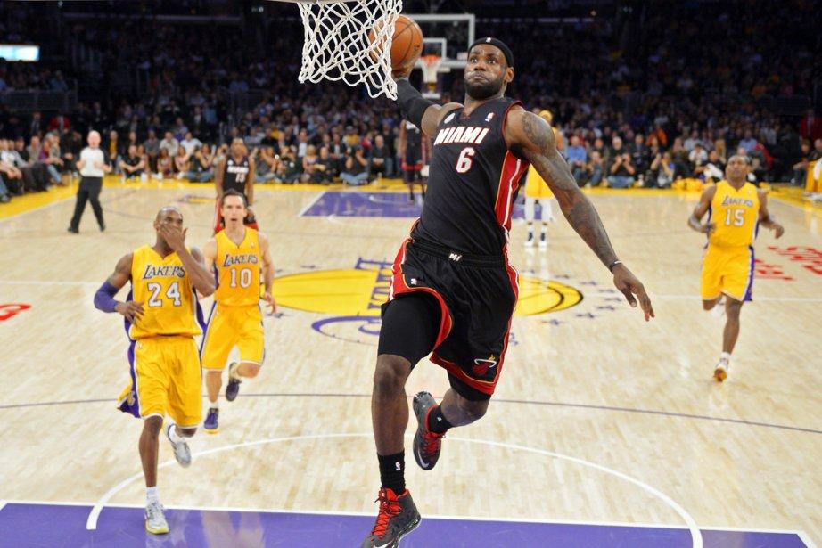LeBron James et le Heat de Miami sont... (Photo Mark J. Terrill, AP)