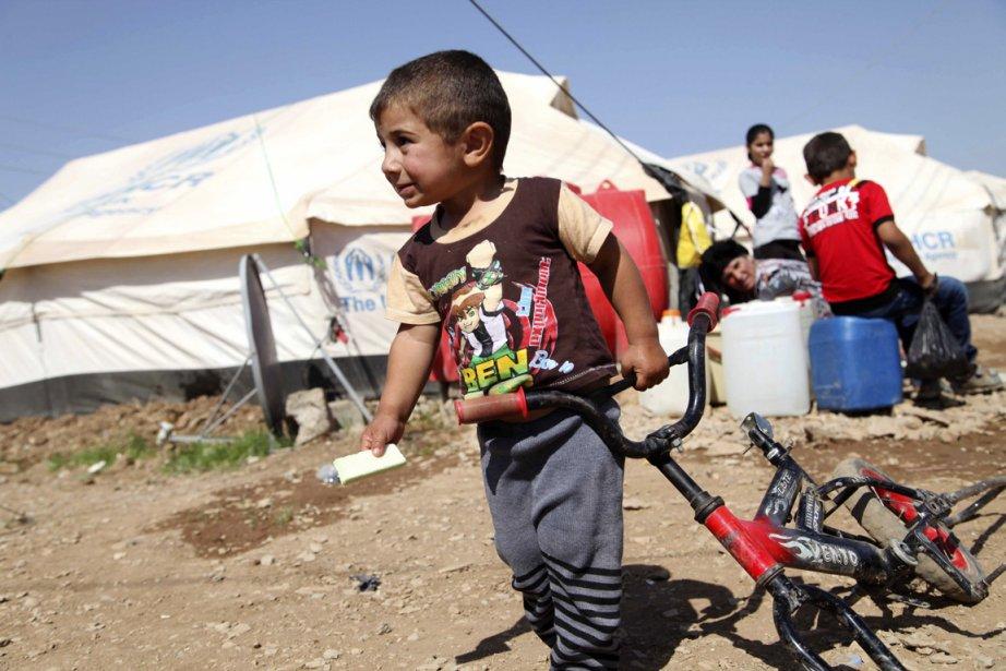 Selon un porte-parole de l'OMS, sur 22 enfants... (PHOTO YAHYA AHMAD, REUTERS)