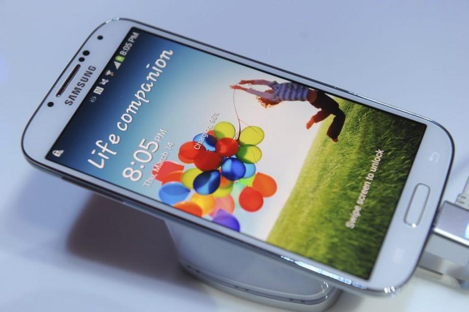 Le Galaxy S4 de Samsung.... (Archives AFP)