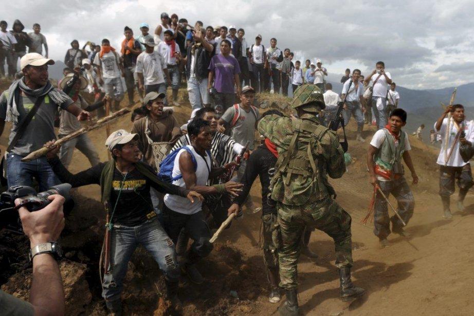 Un des clichés qui a valu au photographe... (Photo: AFP)