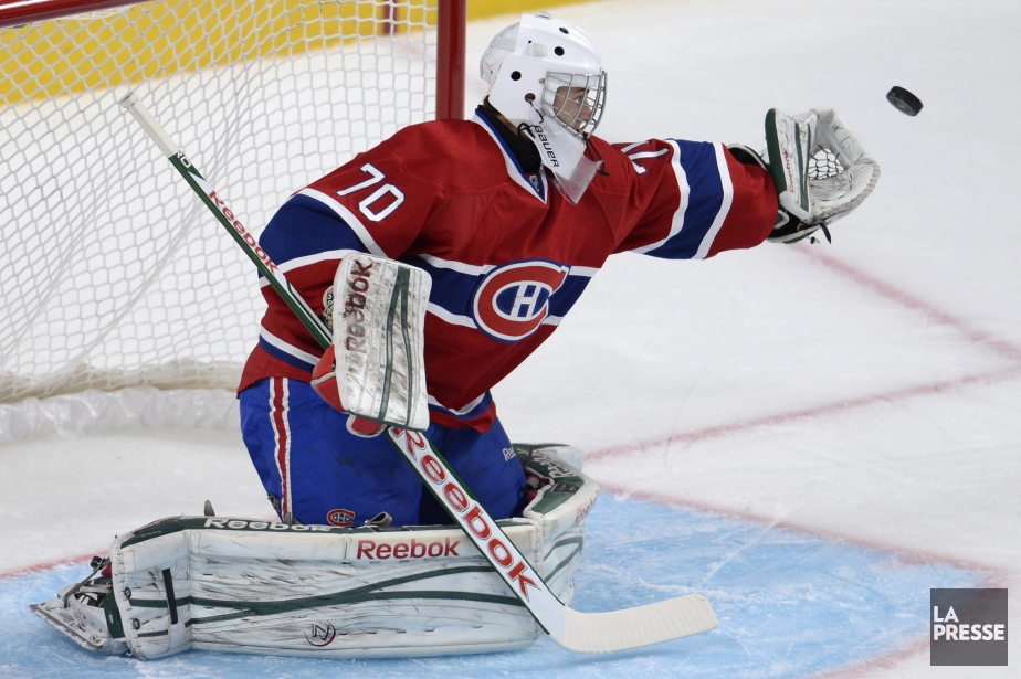 Zachary Fucale... (Photo Bernard Brault, archives La Presse)
