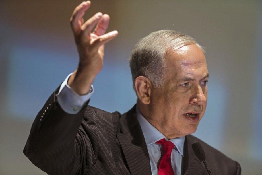 Le premier ministre d'Israël, Benjamin Nétanyahou.... (Photo Nir Elias, Reuters)