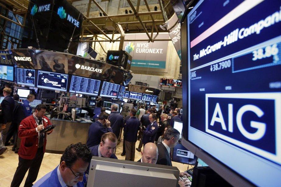 Le bénéfice net annuel d'AIG est ressorti à... (Photo Archives Reuters)