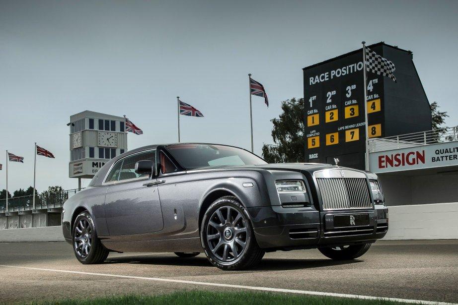 Cette Phantom Coupé Chicane rend hommage au circuit... (Photo fournie par Rolls-Royce)