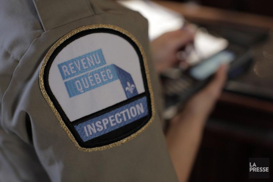 Les revenus d'activités criminelles comme... (Photo fournie par Revenu Québec)